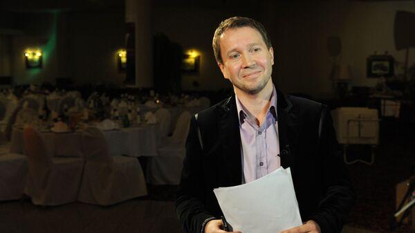 Актер Евгений Миронов на благотворительном вечере фонда поддержки деятелей искусства Артист