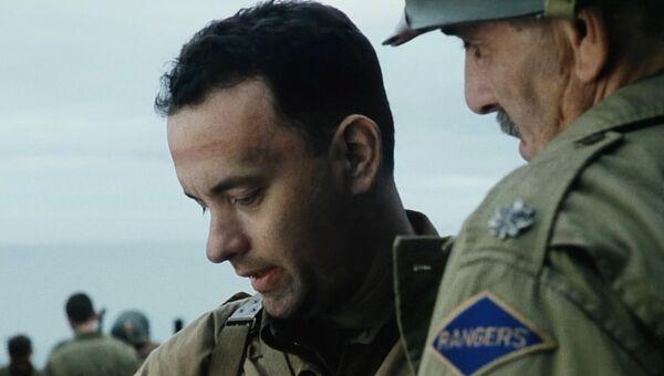 Кадр из фильма Спасти рядового Райана
