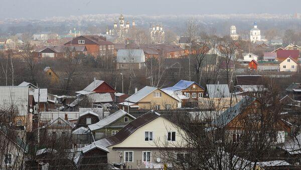 Вид на Переславль-Залесский Ярославской области. Архивное фото