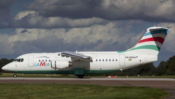 Самолет BAe 146-200 авиакомпании Lamia, разбившийся в Колумбии. Архивное фото