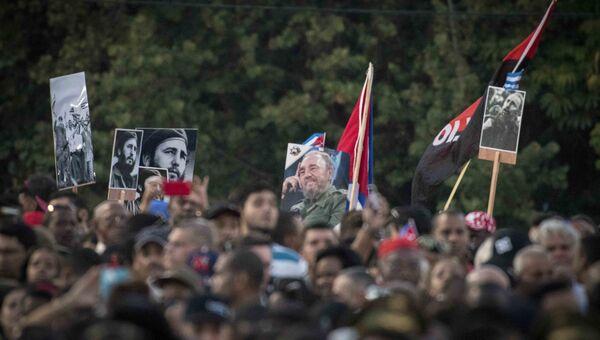 Церемония прощания с лидером кубинской революции Фиделем Кастро. Архивное фото