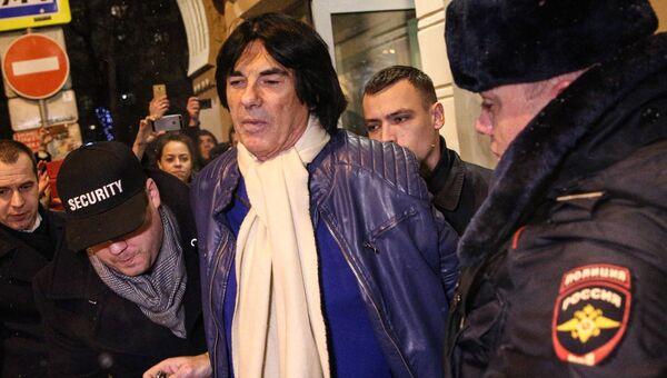 Задержание французского композитора Дидье Маруани в Москве