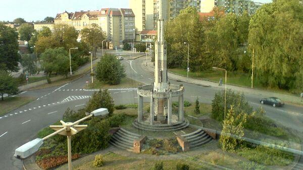 Колонна Победы в польском городе Старгард