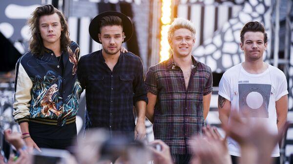 Группа One Direction на телеканале АВС Доброе утро, Америка