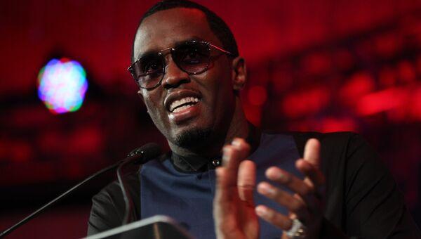 Американский рэпер Diddy (Шон Комбс). Архивное фото