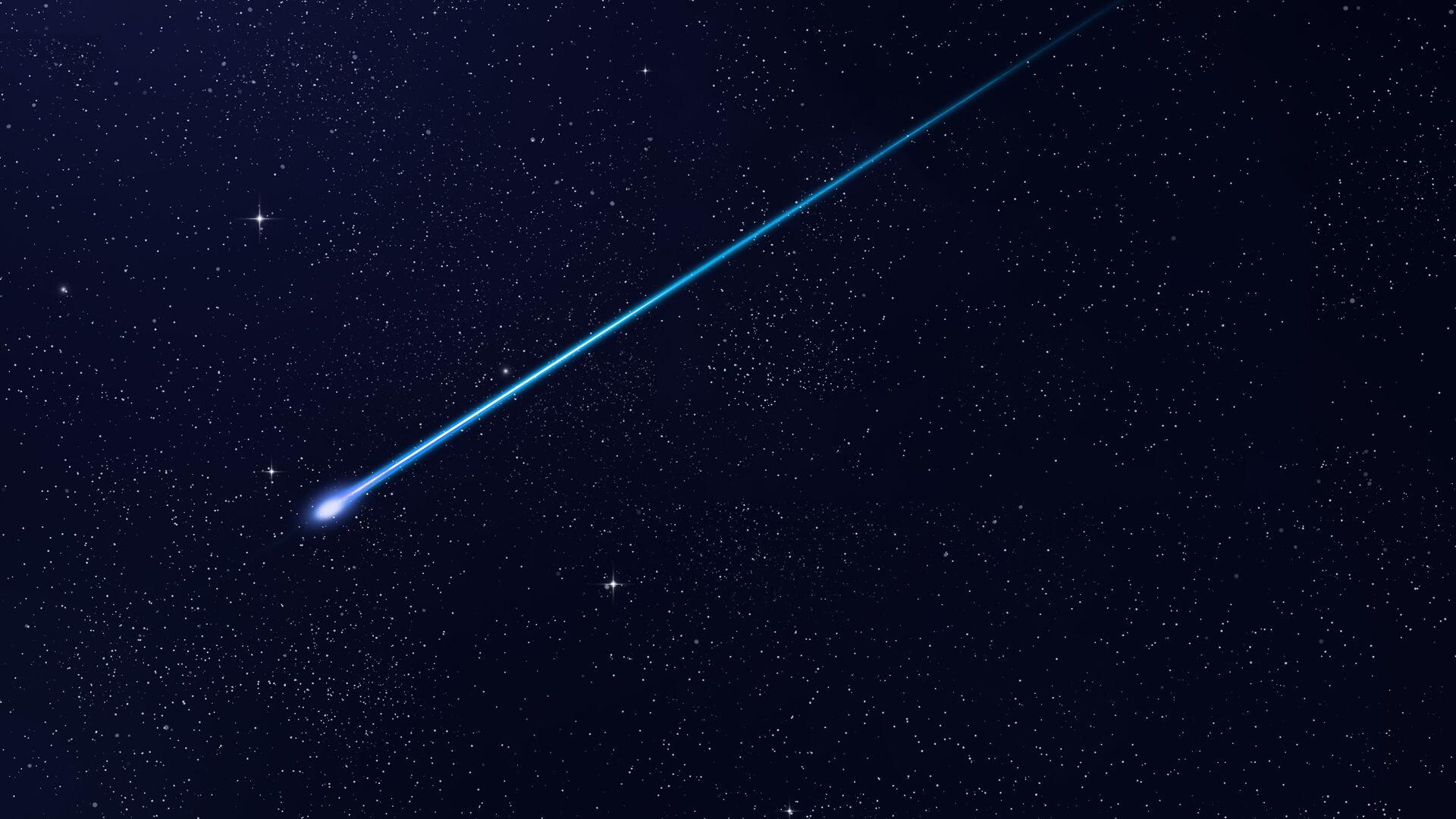 В Японии заметили особо яркую падающую звезду