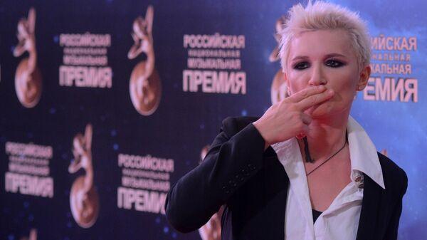 Певица Диана Арбенина на церемонии вручения Российской национальной музыкальной премии в Кремле