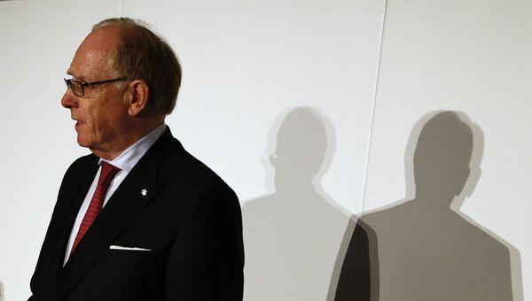 Глава независимой комиссии Всемирного антидопингового агентства Ричард Макларен. Архивное фото