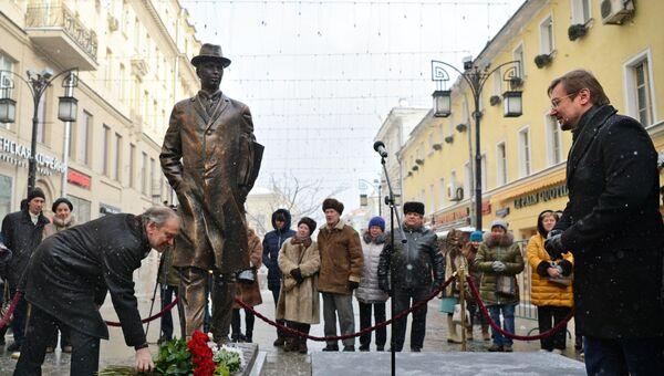 Открытие памятника Сергею Прокофьеву в Москве