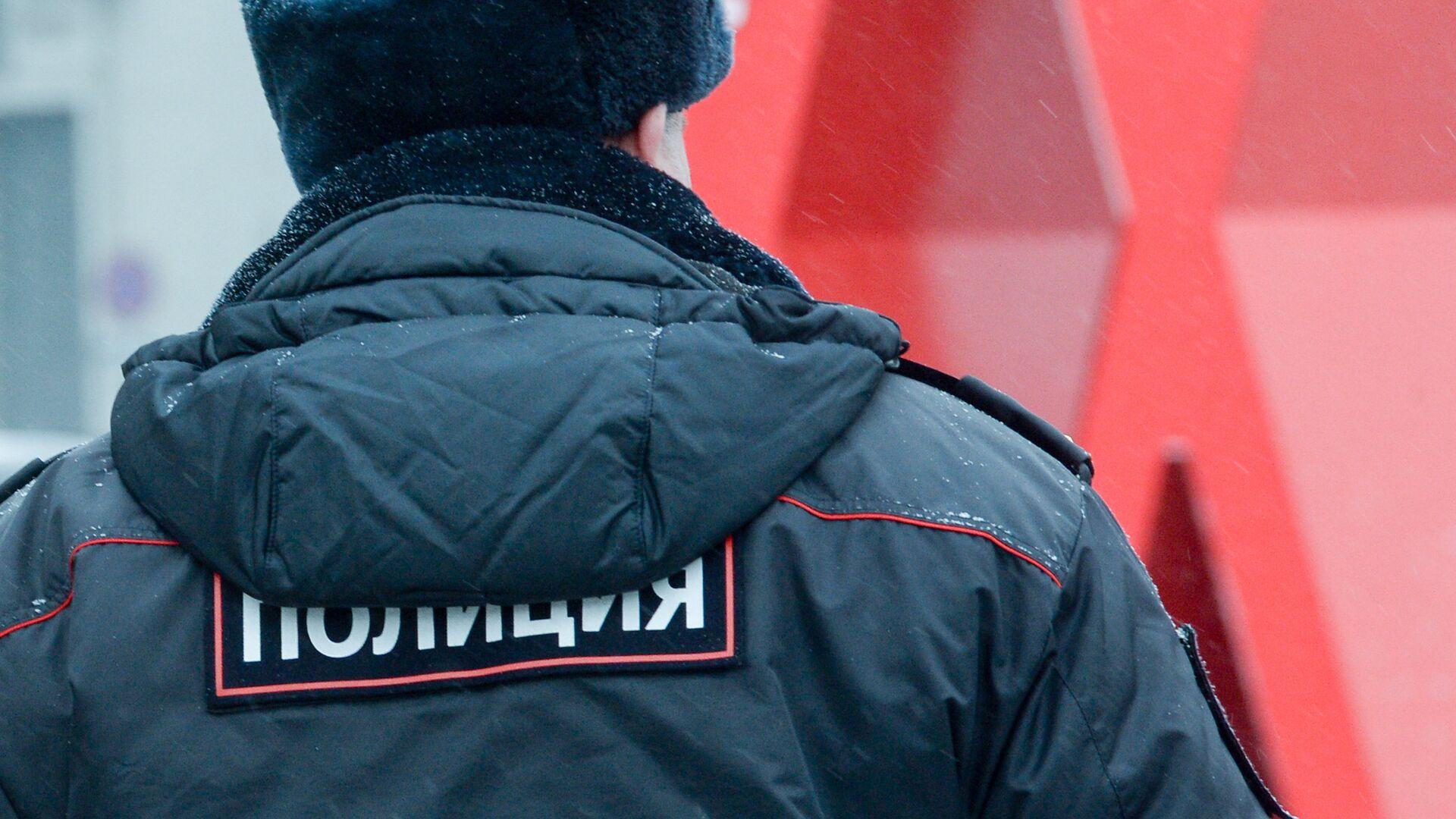 Полицейский на улице Москвы - РИА Новости, 1920, 07.01.2021
