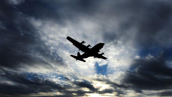 Военно-транспортный самолет Hercules С-130. Архивное фото