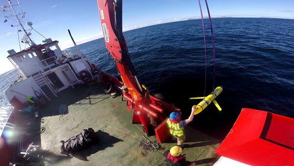 Подводный необитаемый аппарат идентичный задержанному в Южно-Китайском море