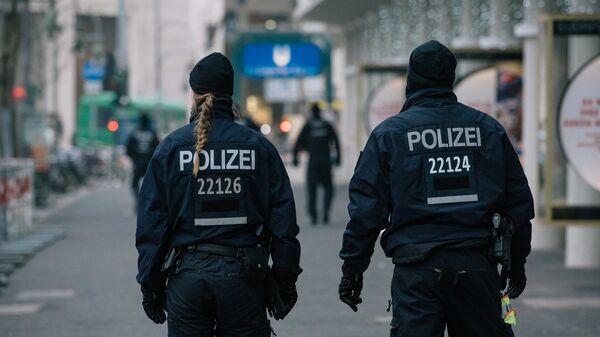 Сотрудники полиции в Германии