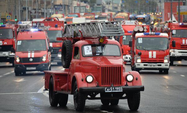 Пожарный автомобиль ГАЗ-51