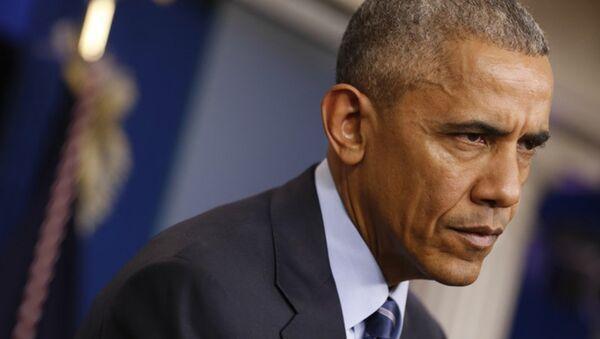 Президент США Барак Обама в Вашингтоне. 16 декабря 2016 года