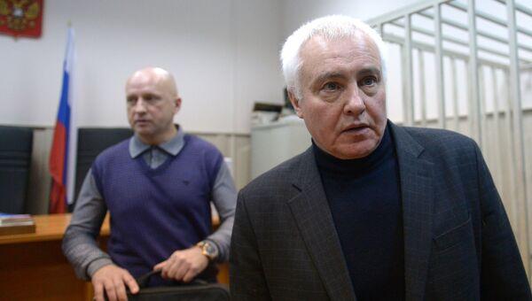 Экс-глава Роспечати Борис Миронов в суде. Архивное фото
