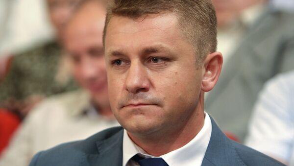 Министр экономического развития Крыма В.Демидов