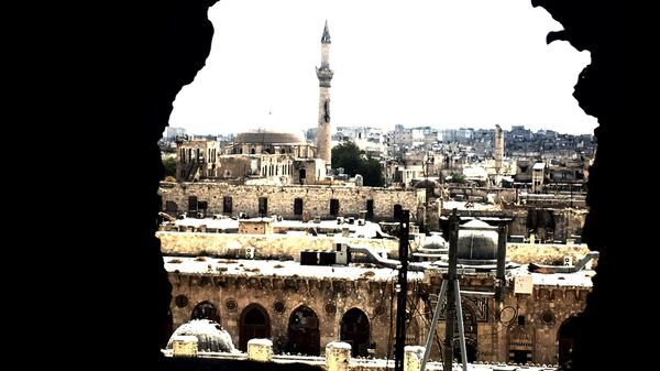 Старый город Алеппо. Архивное фото