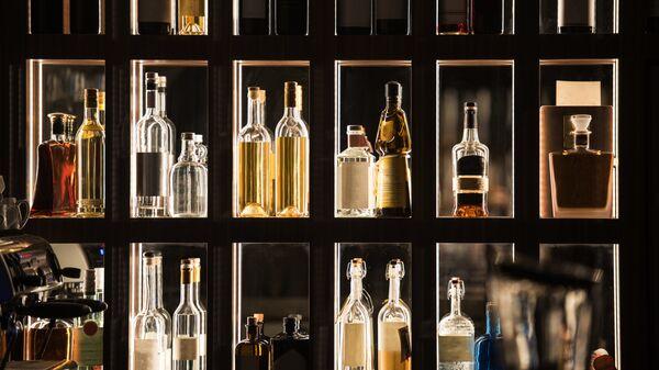 Бар алкогольных напитков. Архивное фото