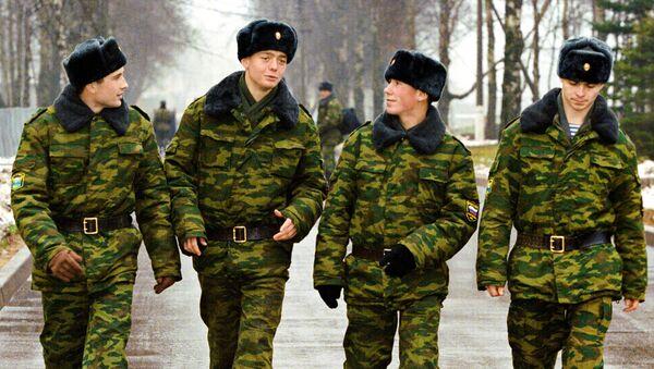 Сержанты Псковской воздушно-десантной дивизии. Архивное фото