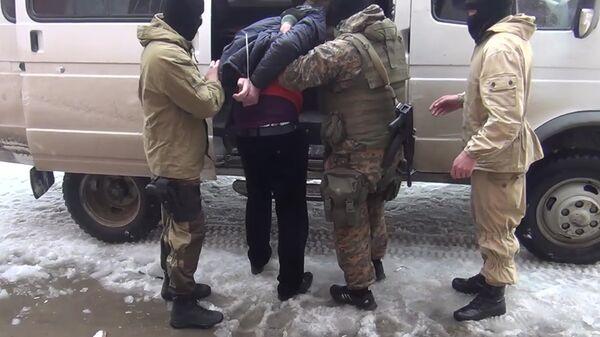 Задержание сторонников запрещенной на территории РФ террористической организации Исламское государство в Махачкале