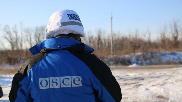 ОБСЕ мониторят участок у КПП Станица Луганская в Донбассе. Архивное фото