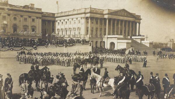 Инаугурация президента Теодора Рузвельта в Вашингтоне, округ Колумбия, США, 1905