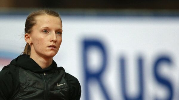 Чемпионка Европы 2014 года в прыжках с шестом Анжелика Сидорова