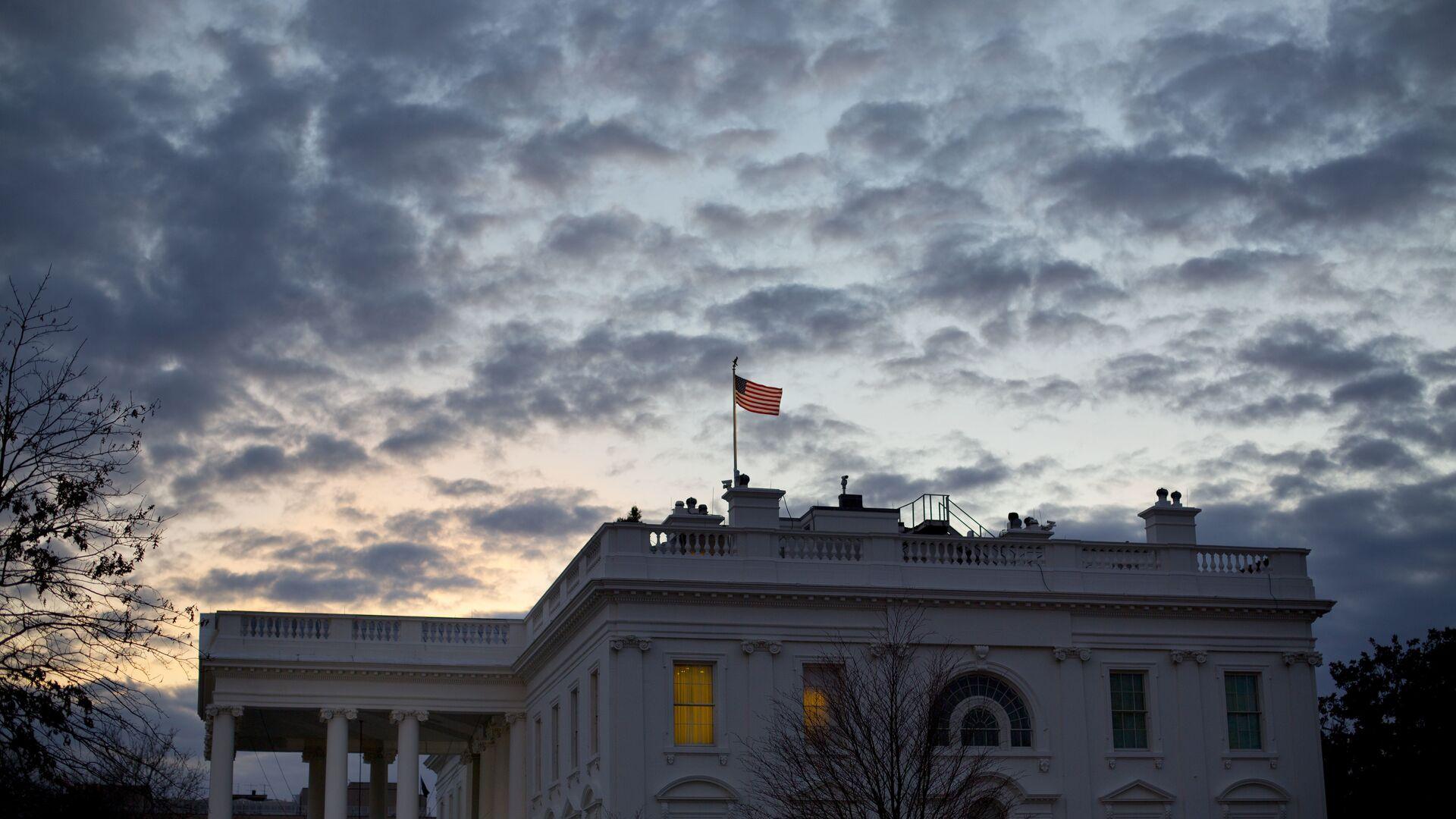 Здание Белого дома в Вашингтоне, США - РИА Новости, 1920, 02.03.2021