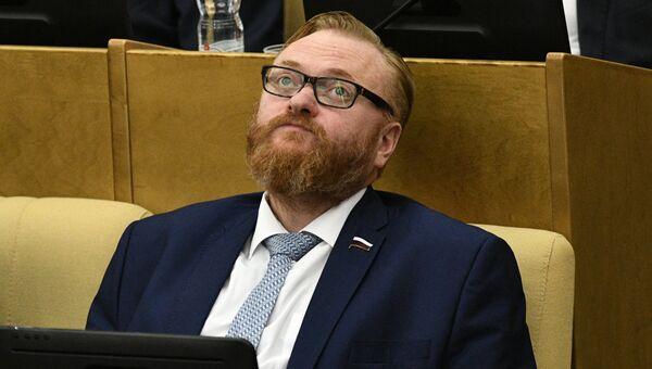 Депутат Государственной Думы РФ Виталий Милонов. Архивное фото