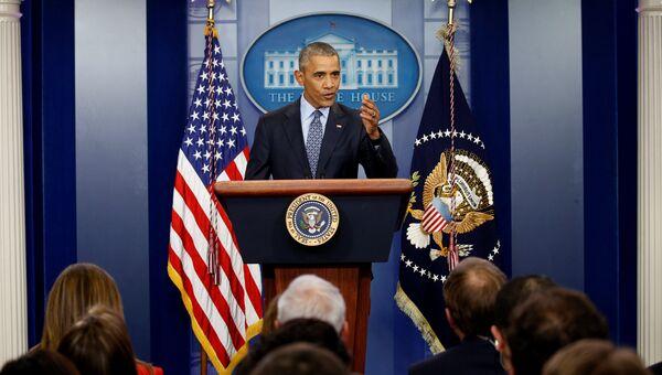 Заключительная пресс-конференция Барака Обамы