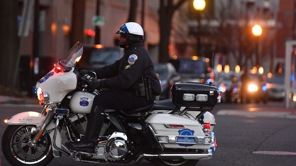 Полицейский. США. Архивное фото