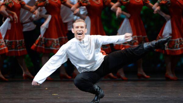 Русский народный танец. Архивное фото