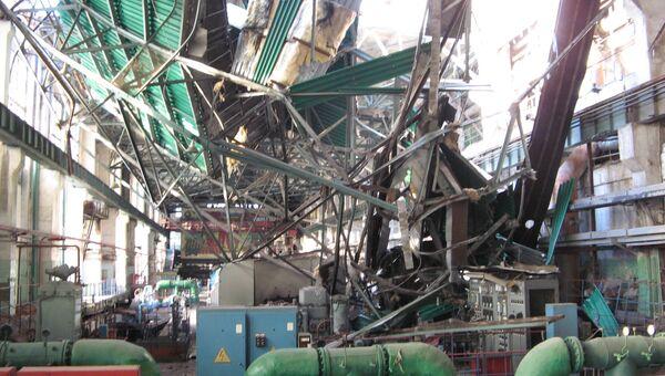 На Пензенской ТЭЦ-1 произошло частичное обрушение крыши в машинном зале. Архивное фото