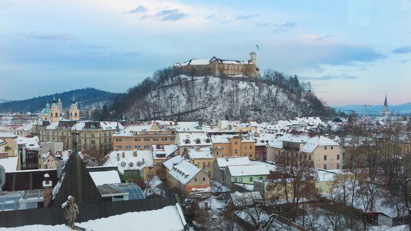 Панорама Любляны, Словения