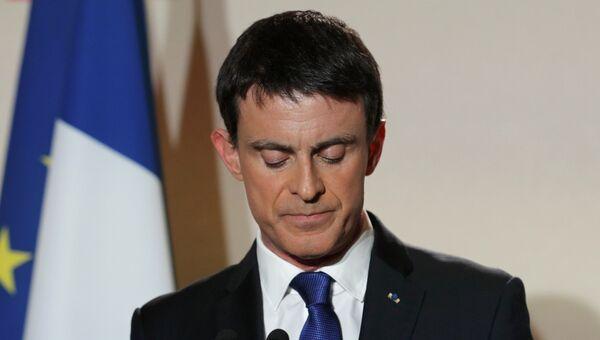 Экс-премьер Франции Мануэль Вальс. Архивное фото