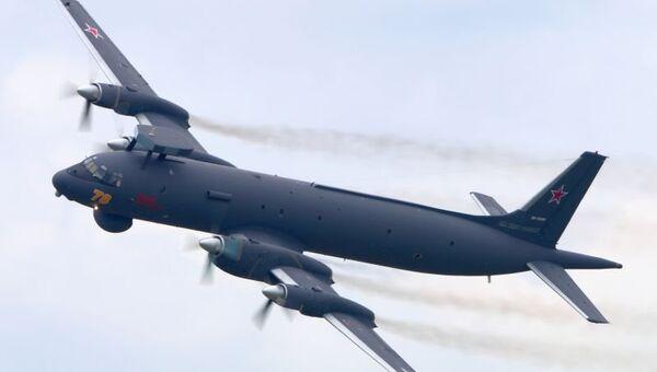 Модернизированный противолодочный самолет ИЛ-38Н