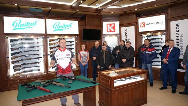 Открытие бренд-зоны концерна Калашников в Климовске. Архивное фото