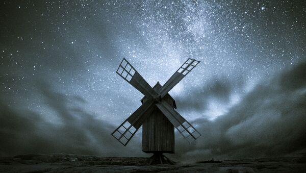 Работа фотографа Oscar Keserci The old windmill, Юрмо, Финляндия