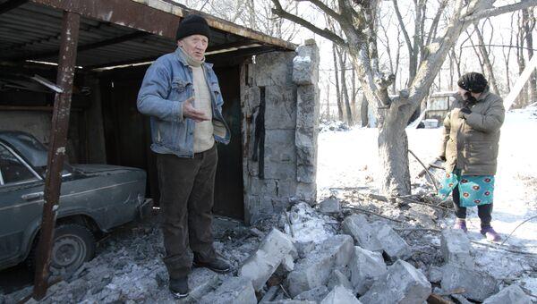 Ситуация в городе Макеевка Донецкой области. Архивное фото