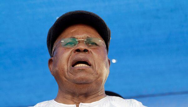 Бывший премьер-министр Республики Конго Этьен Тшисекеди. Архивное фото
