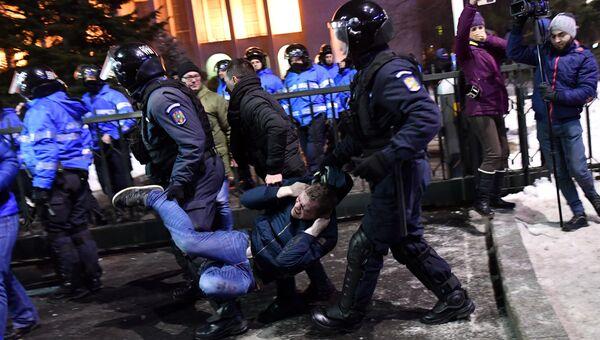 Акции протеста в Румынии, 1 февраля 2017