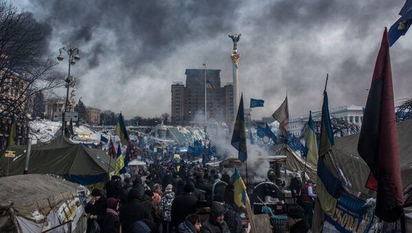 Митинги в Киеве. Архивное фото