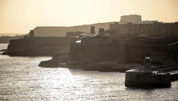 Морская крепость Валетта на Мальте