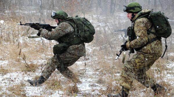 Новая боевая экипировка Ратник для военнослужащих сухопутных войск. Архивное фото