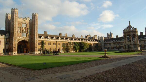 Кембриджский Тринити-колледж, Великобритания. Архивное фото.