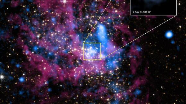 Стрелец A* — черная дыра, находящаяся в центре галактики Млечный Путь