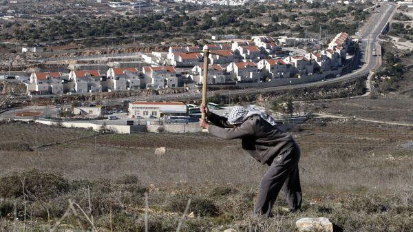 Еврейское поселение на Западном берегу реки Иордан