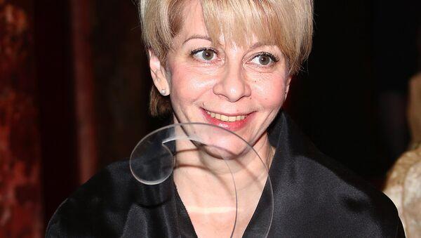 Исполнительный директор фонда Справедливая помощь Елизавета Глинка, победитель в номинации Социальный проект