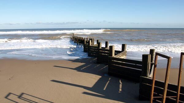 Пляж в Великобритании